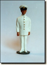 PO/CPO at Attention - Summer Dress Uniform