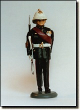 Marine Colour Sergeant Marching (1970/80)