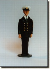 PO/CPO at Attention - Winter Dress Uniform